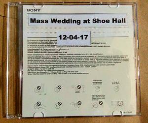 CD of the Free Civil Wedding in Marikina