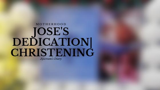 My Baby Jose's Dedication Preparation
