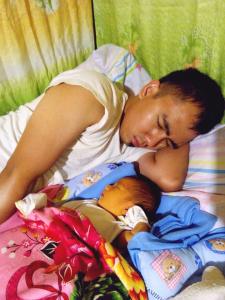 Sleeping Kit and Jose